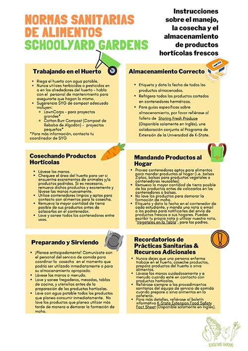 SPANISH VERSION_SYG Food Safety Guidelines